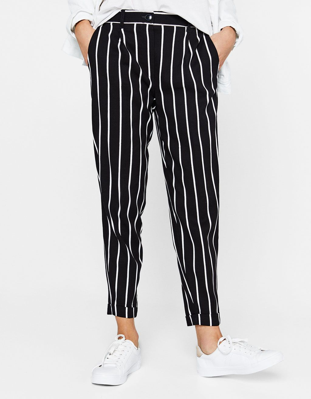 d30820149cb7d Tailored pleated jogging trousers. Discover this and many more items in  Bershka with new products every week
