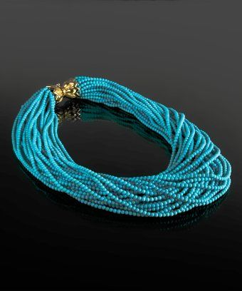 ralph lauren turquoise jewelry Turquoise Necklace BLUEFLY up