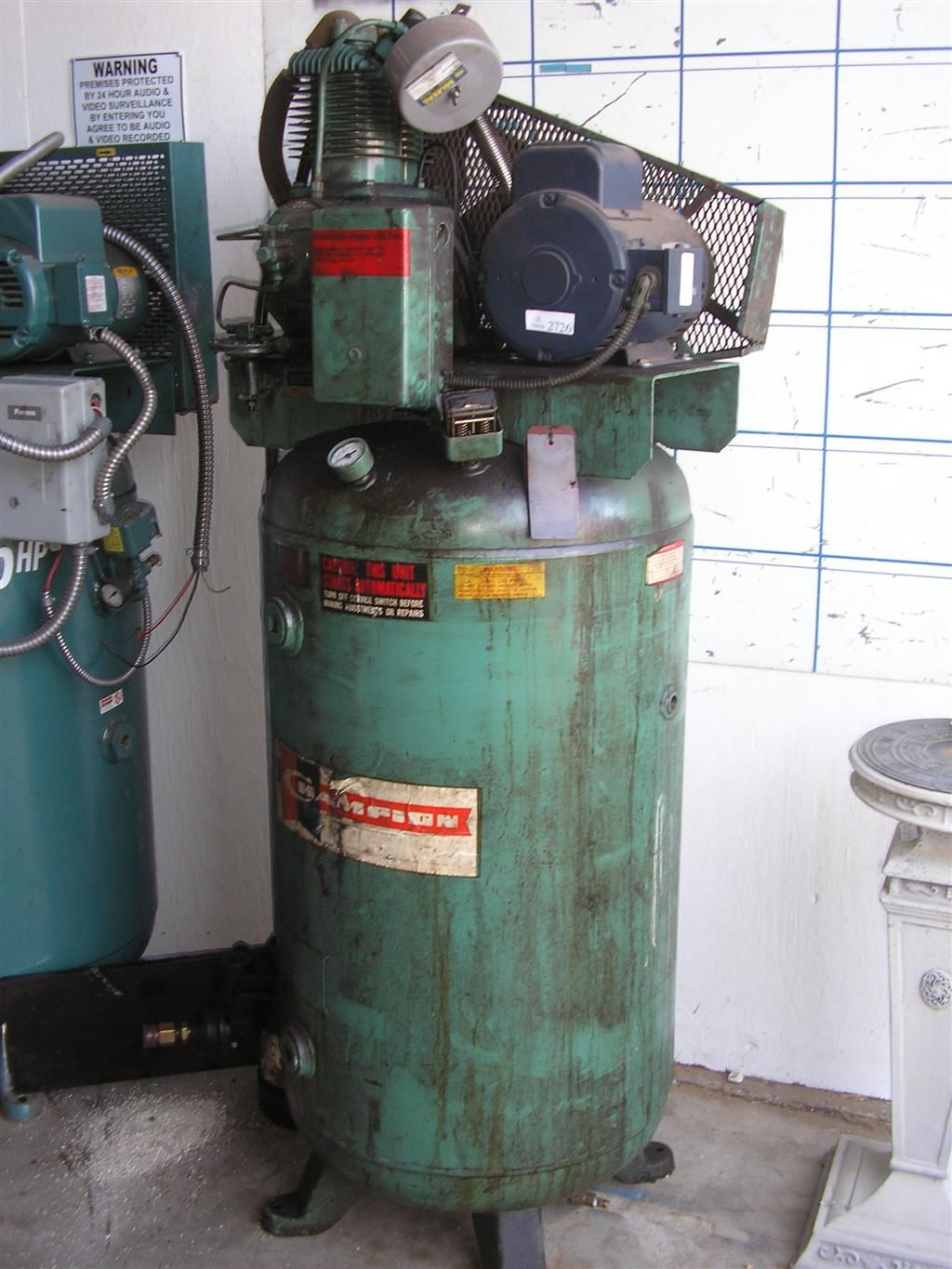 60 Gallon 2 Stage Pneumatic Air Compressor from Champion