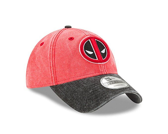 8c4727b0 Amazon.com - New Era Marvel Comics Deadpool 9TWENTY Rugged Canvas Strapback  Hat