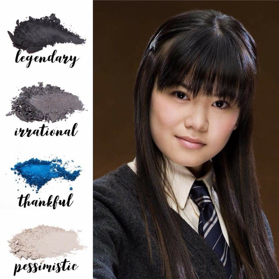 Cho Chang Harry Potter Themed Makeup Palettes Younique Beauty Younique Makeup Character Makeup