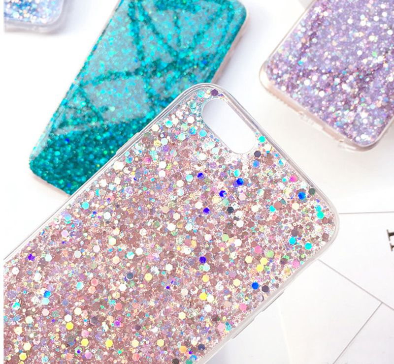 iphone 7 phone cases silicone glitter