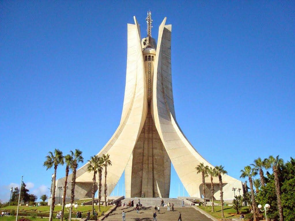 ALGIERS, ALGERIA - AUG 04, 2017: The Maqam Echahid Monument ...