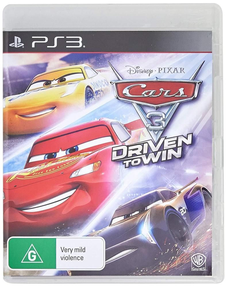Cars 3 Driven To Win Disney Pixar Warner Bros Racing Game Sony Playstation 3 Ps3 Wbplay Disney Pixar Pixar Racing Games