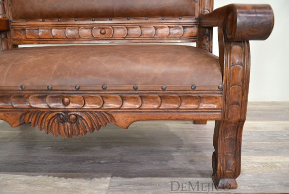 Southwest furniture inspired the Santa Fe Bench is made from