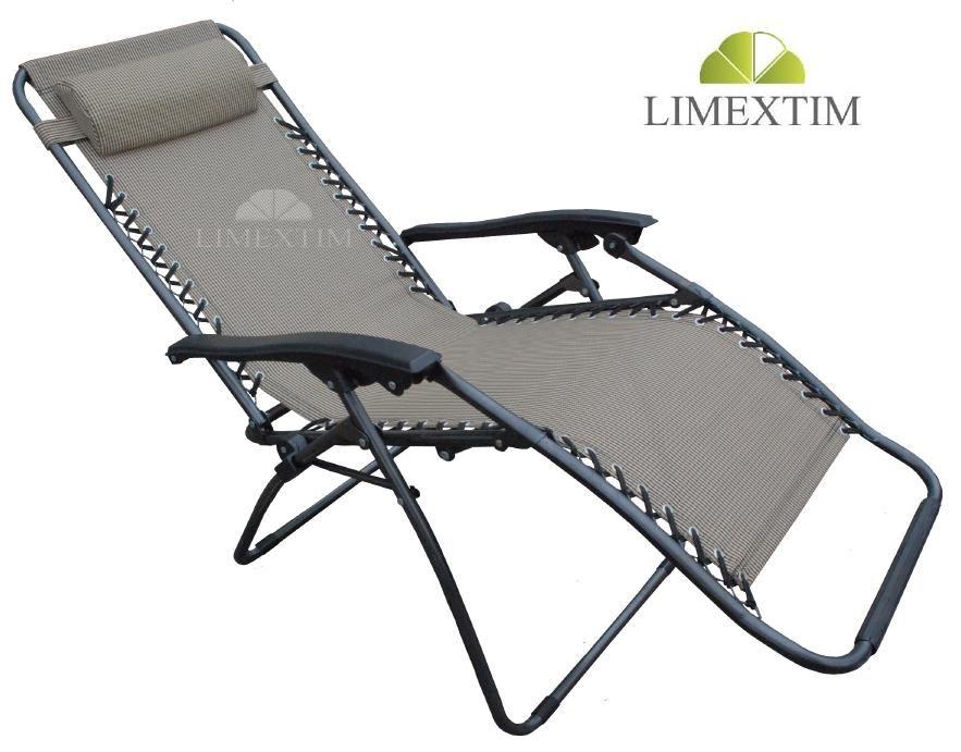 Lezak Ogrodowy Plazowy Kempingowy Zero Gravity 3187440442 Oficjalne Archiwum Allegro Outdoor Chairs Outdoor Decor Gravity Chair