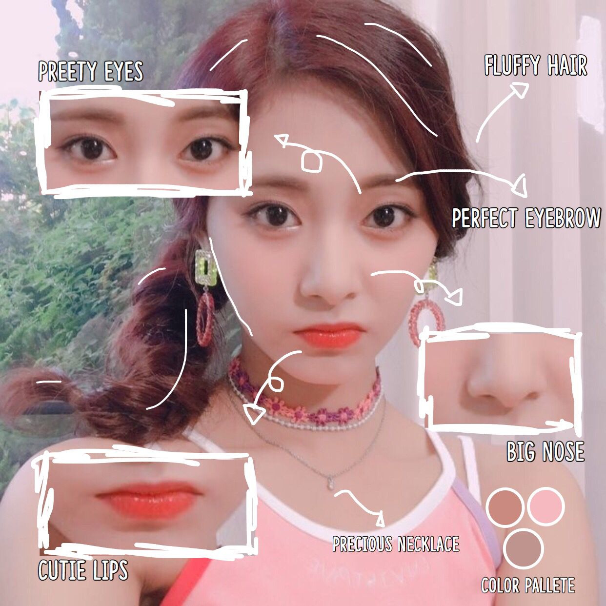 Anatomy Of Chou Tzuyu Anatomy Tzuyu Twice Twice Kpop