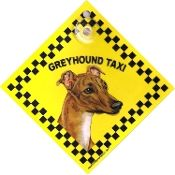 Auto Attitudes Greyhound Taxi Sign
