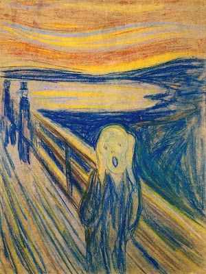 The Norwegian artist Edvard Munch (1863-1944) is regarded as a pioneer in the Expressionist movement in modern painting. Description from poulwebb.blogspot.com. I searched for this on bing.com/images