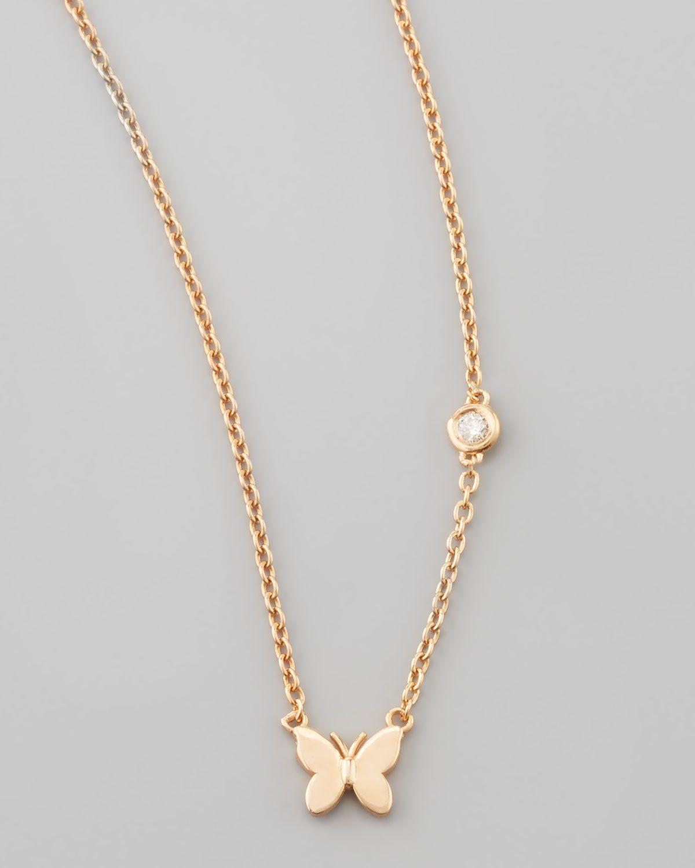 Sydney Evan 14k Diamond Triangle Pendant Necklace SIupu