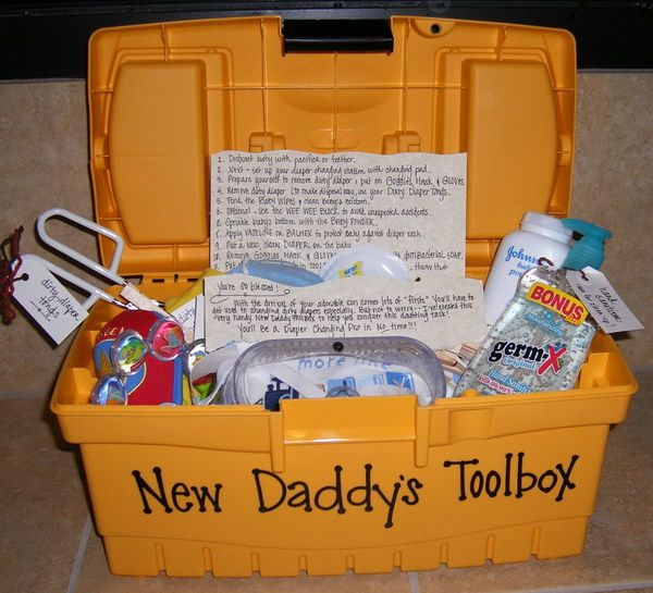 Fun And Practical Gifts For New Dad Toolbox Babies And