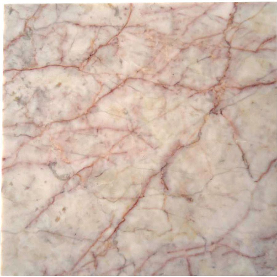Allen Roth 10 Pack Pink Floor Tile Common 12 In X 12 In Actual 11
