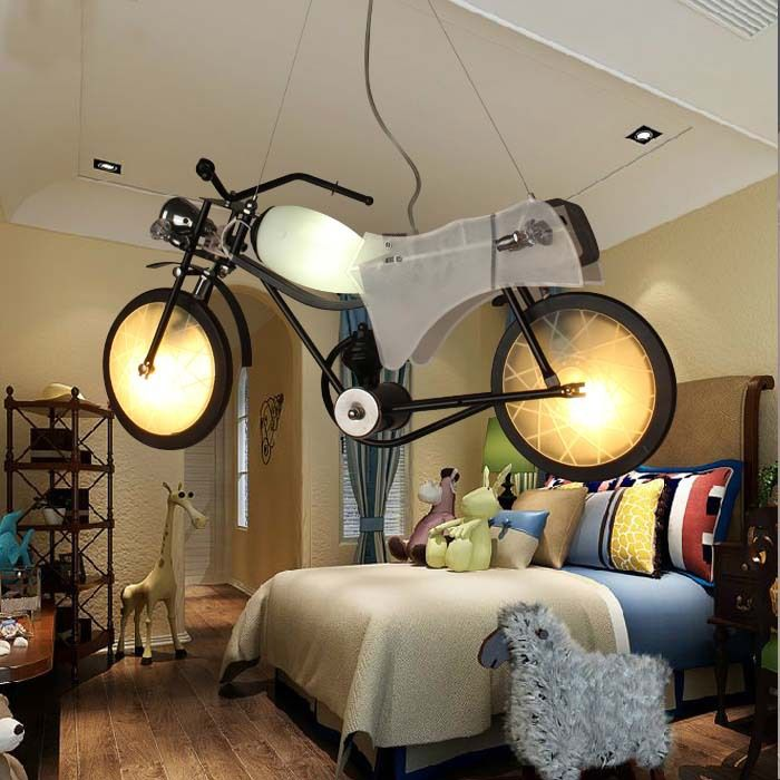 kids pendant lighting. NEW Designed Kids Room Ceiling Lamp Children\u0027s Bedroom Pendant Decoration Motorbike Shaped, Lighting W