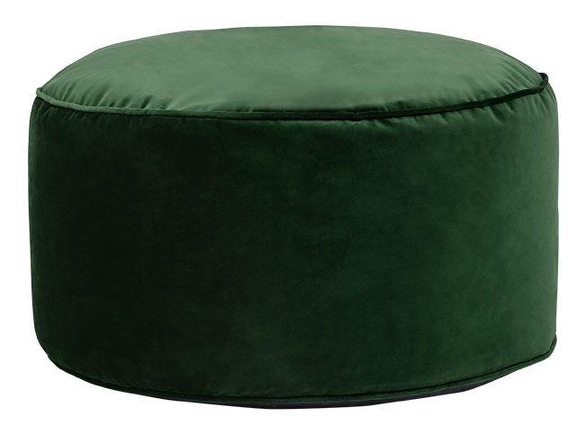 Swell Lux Velvet Floor Cushion Forest Green Velvet Trends Theyellowbook Wood Chair Design Ideas Theyellowbookinfo