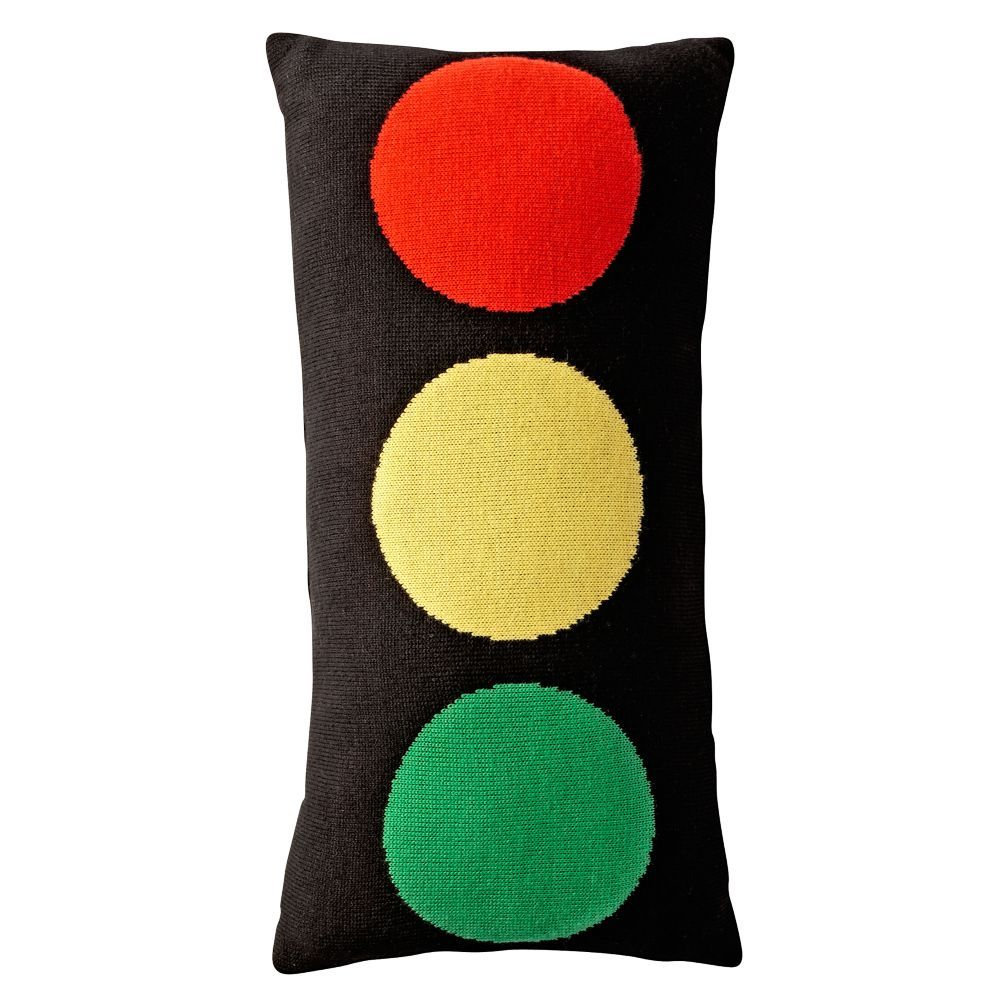 Stop Light Throw Pillow Throw Pillows Pillows And Room - Traffic light for bedroom