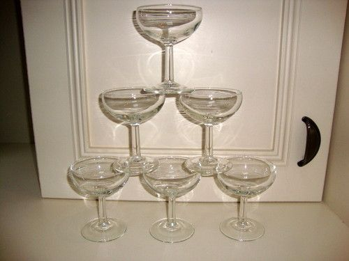 Champagne saucers