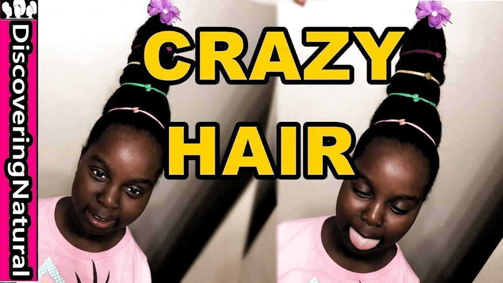 CRAZY Haar Frisur für Mädchen und Schule | Natural Hair Cindy Lou Who - YouTube Crazy Hair Tag