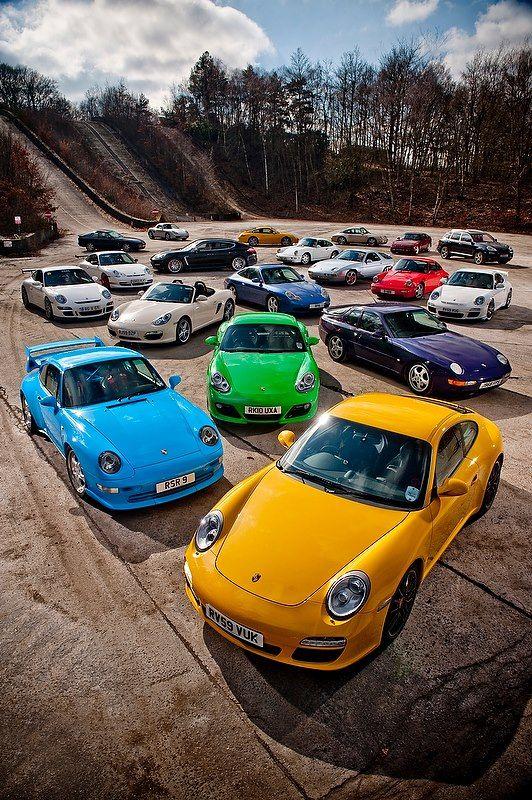 Porsche colors