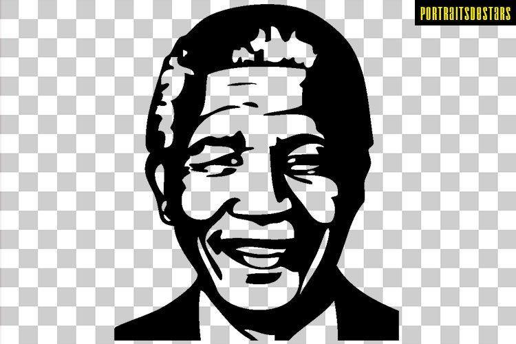 Nelson Mandela Png Nelson Mandela Dessin Png