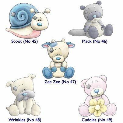 My Blue Nose Friends Blue Nose Friends Tatty Teddy Forever Friends Bear