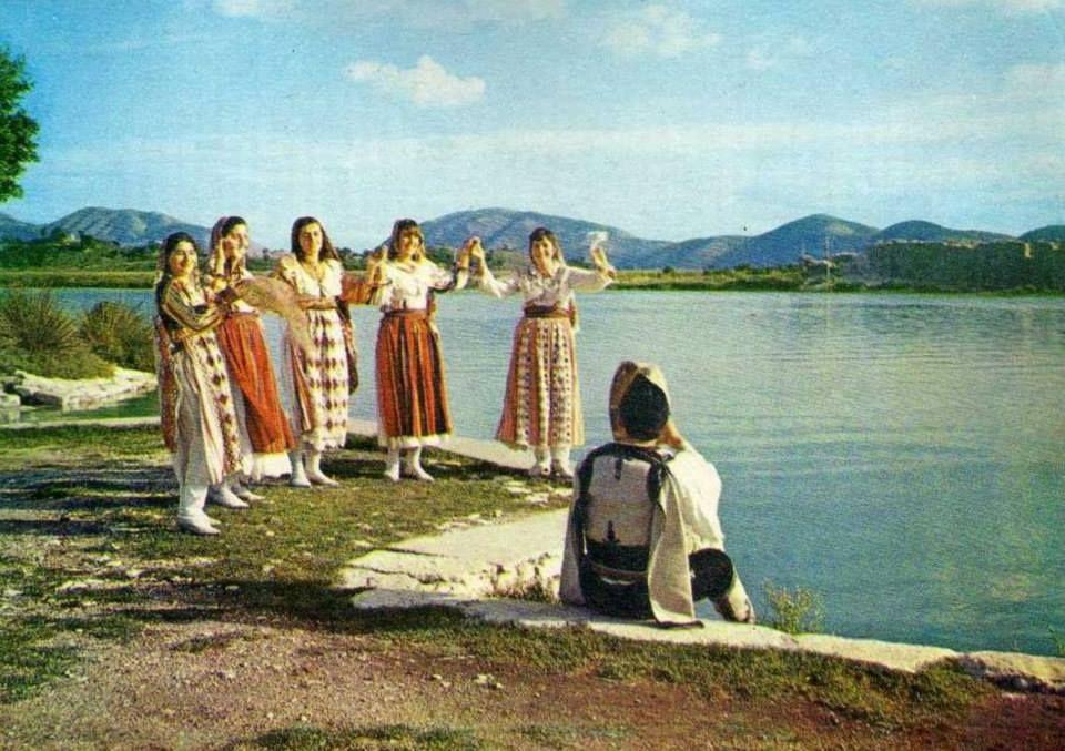 Folk costumes from Fier, Albania