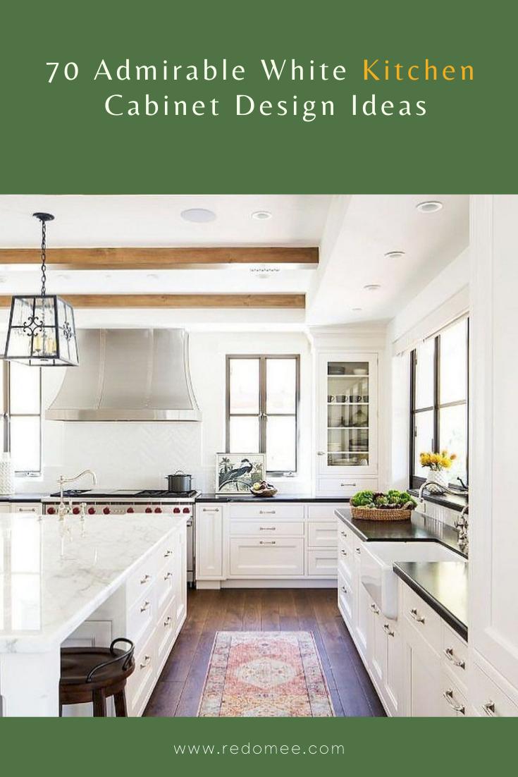70 Admirable White Kitchen Cabinet Design Ideas In 2020 White Kitchen Cabinets Kitchen Cabinet Design Cabinet Design