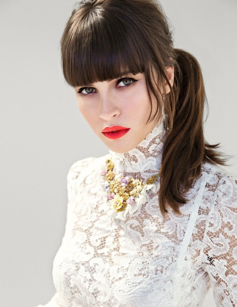 Felicity Jones Dons Dolce & Gabbana for Yo Dona December Cover Shoot by Iakovos Kalaitzakis