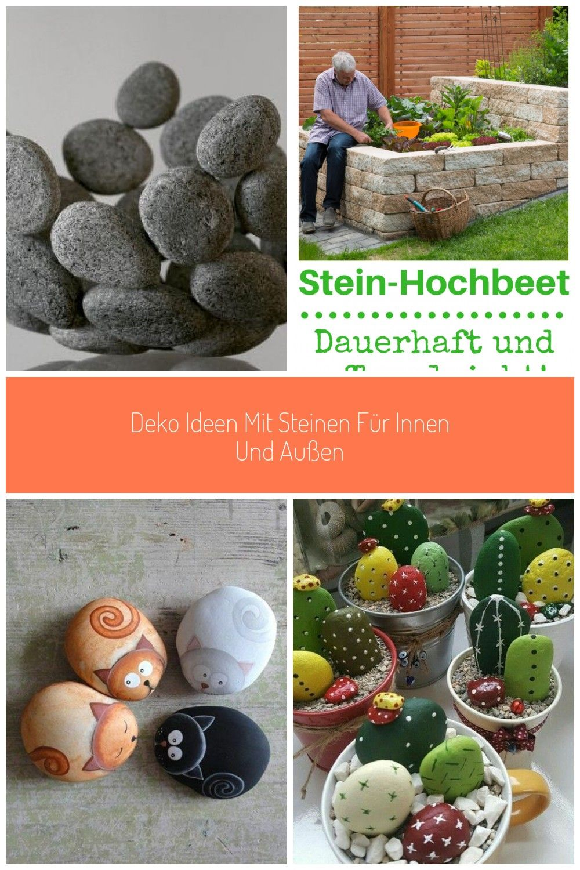 Deko Ideen Mit Steinen Fur Innen Und Aussen Diy Obstschale Aus