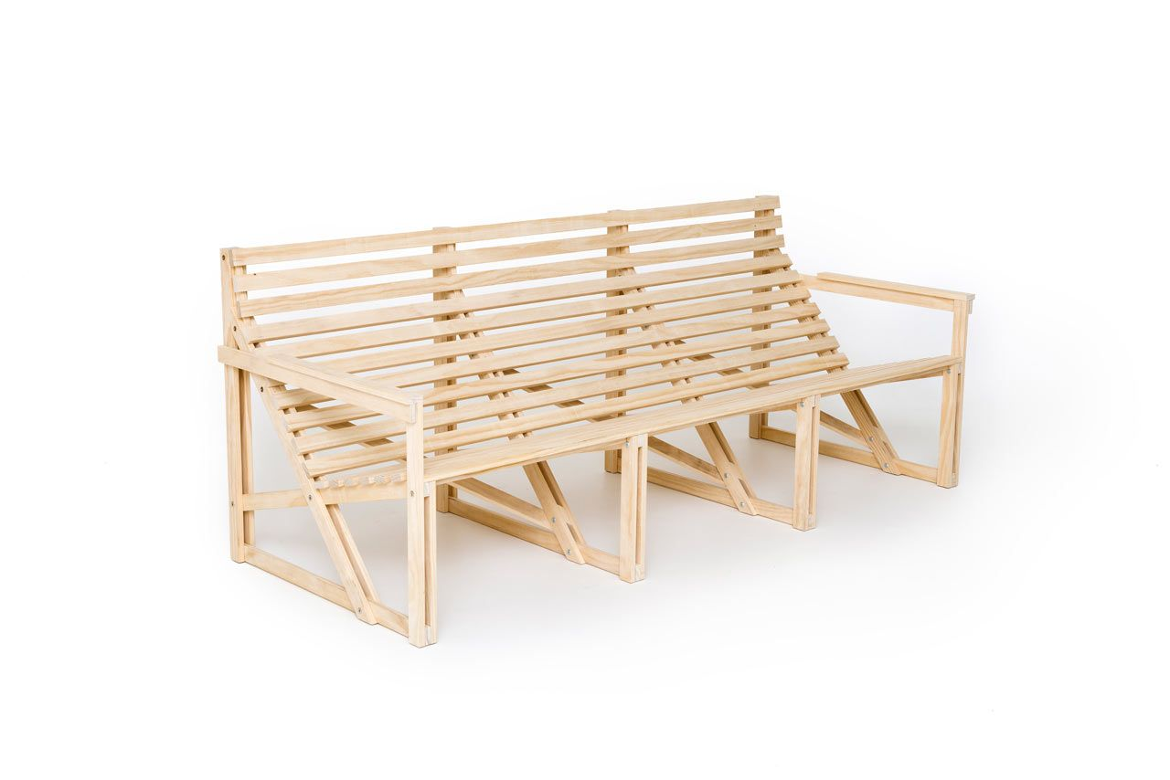 Patioset: Simple Outdoor Furniture With Modern Comfort   Design Milk