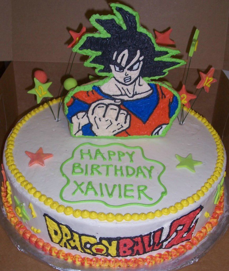 Dragon Ball Z Birthday Cake Ideas Pictures Birthday Cake Ideas