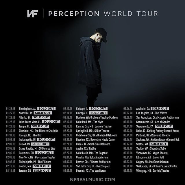 The Perception World Tour Is Coming To Canada Full North America