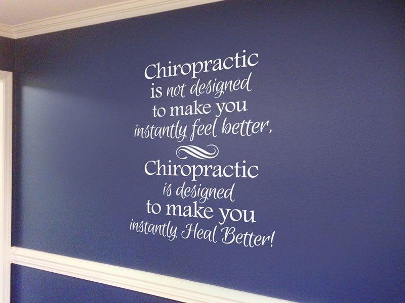 Chiropractic Decals - Wellness Media | Chiropractic Art | Pinterest ...