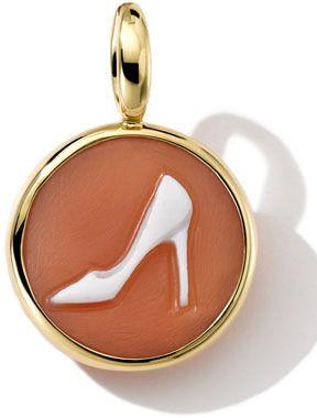 Ippolita 18k Gold Round Pump Shoe Cameo Charm on shopstyle.com