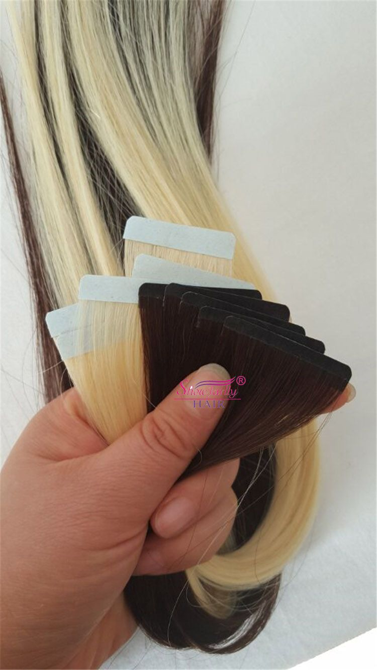 Online Shopping Indian Straightcurly Invisible 0803x4cm Tape