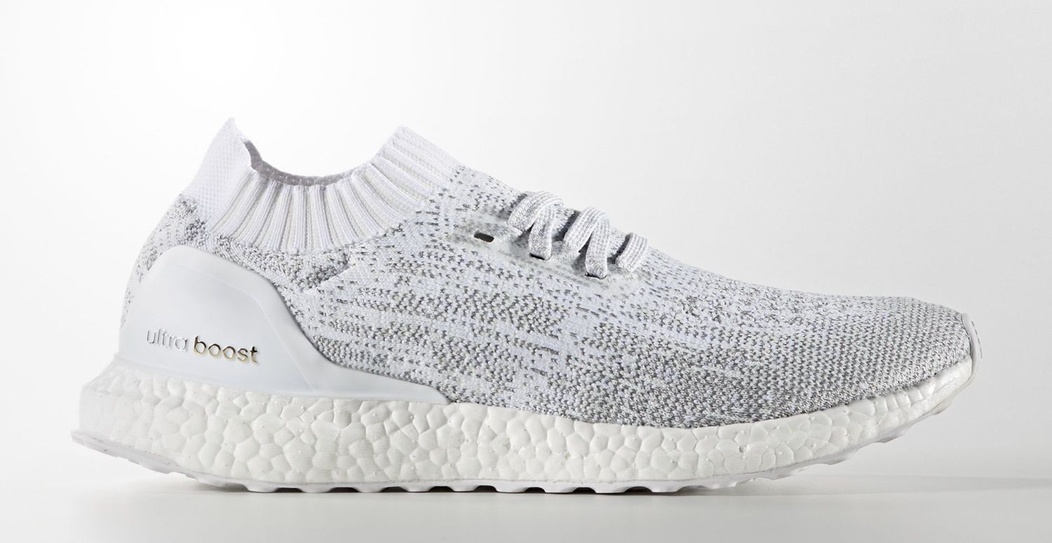 Incredible White Silver Adidas Ultra Boost Men Mens Glow Trainers