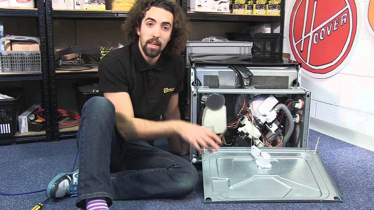 How to diagnose dishwasher leaking and heating problems