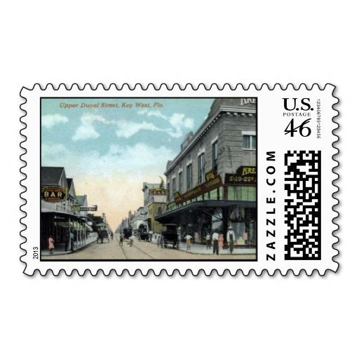US Postage Stamp - Key West, Florida