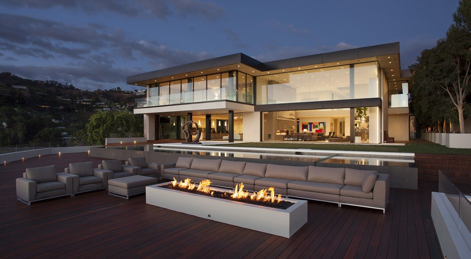 Modern Architecture Los Angeles los angeles, laguna beach architecture projects | mcclean