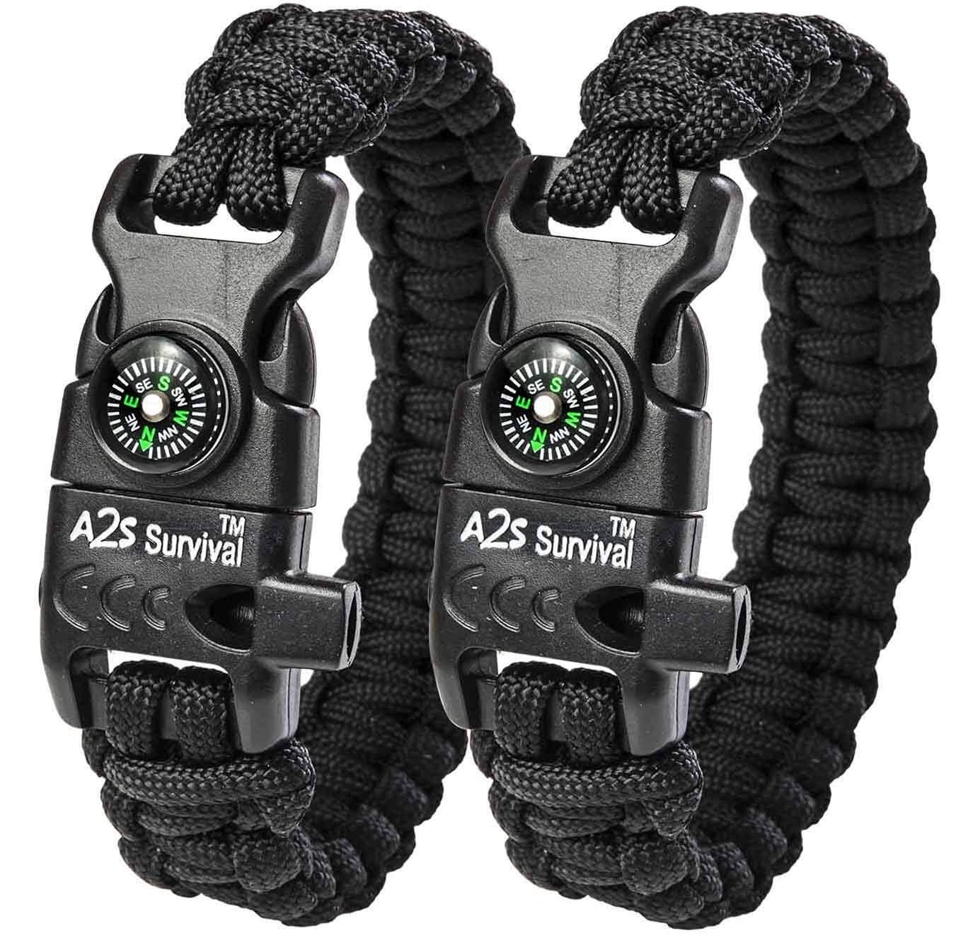 Photo of A2S Protection Paracord Bracelet K2-Peak – all2shop
