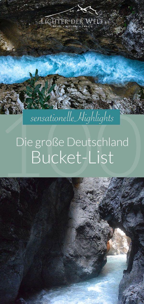 Die große Deutschland Bucket List