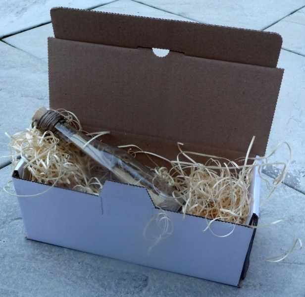 Message In A Bottle Wedding Invitations: Message In A Bottle Wedding Invitation Box