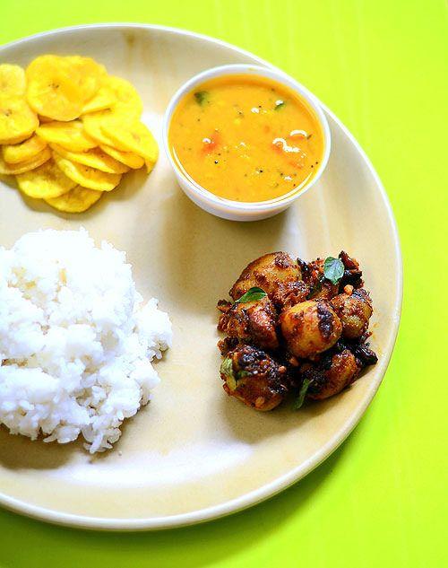 Baby potato fry recipe potato curry curry and rice baby potato fry north indian recipesbaby potatoespotato currycurry recipesbabiesbookfood forumfinder Choice Image