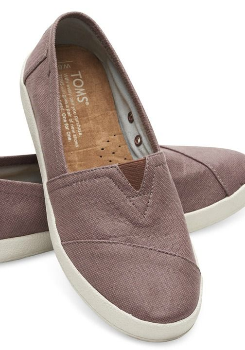 The Avalon Sneaker features all the slip-on goodness of TOMS Classics