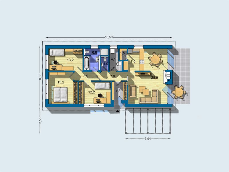 Superior To Realization House Project Bungalov 1678 Page) You Get A Free Itemized  Budget.