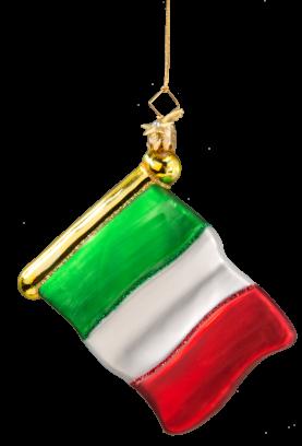 Flagge Italien Christbaumschmuck Bella Italia Pinterest
