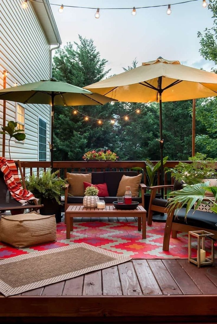 42 attractive backyard patio ideas on a budget you can on modern deck patio ideas for backyard design and decoration ideas id=47419