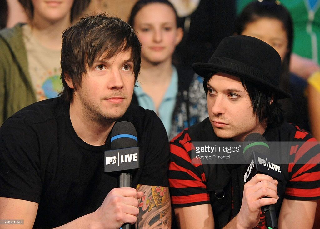 Simple Plan visits MTV Canada Studios in Toronto, Canada on February 20, 2008