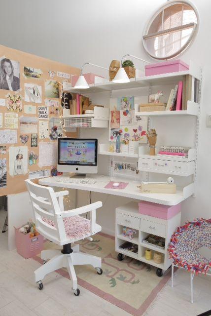 Escritorio para ni as decoraci n pinterest chicas for Oficinas chicas