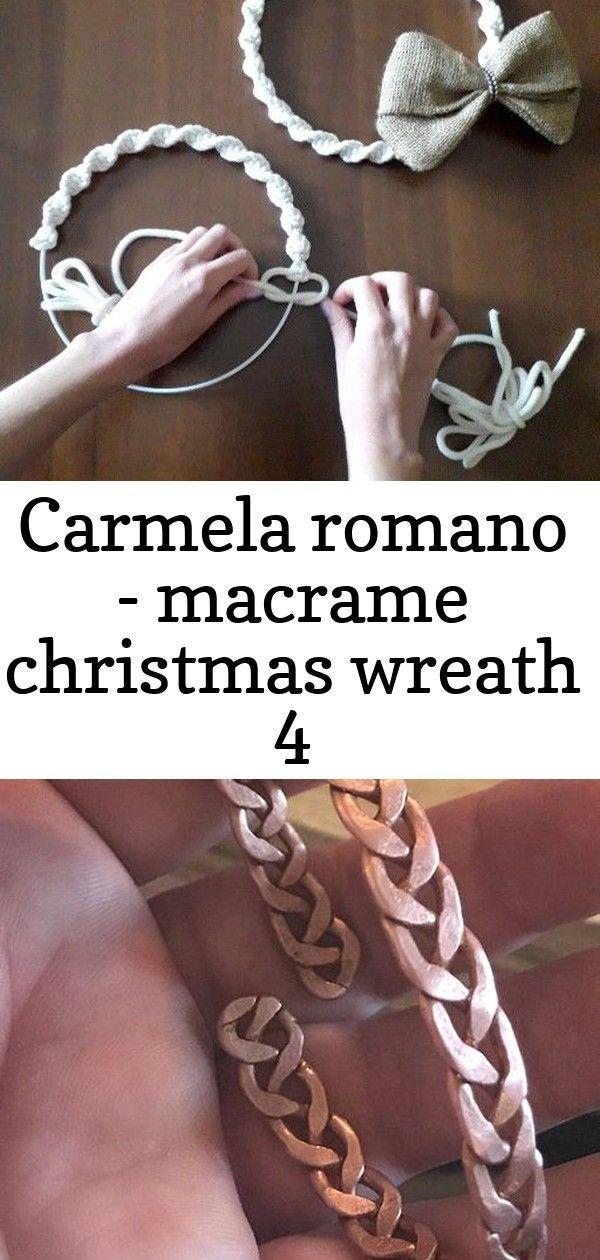 Photo of #Carmela #Christmas #MACRAMÊ #Romano #Wreath Così è come prende forma la ghir…