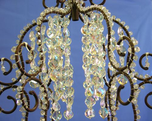 Make your own crystal chandelier for the home pinterest make your own crystal chandelier mozeypictures Choice Image